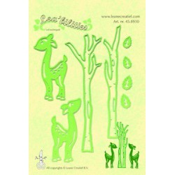 LCR45.8930 / Lea'bilitie® deer & trees