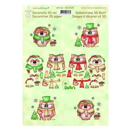 50.9135 / knipvel owlie's christmas