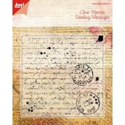 6410-0024 / Joy! stempel old letter