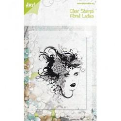 6410-0071 / floral lady