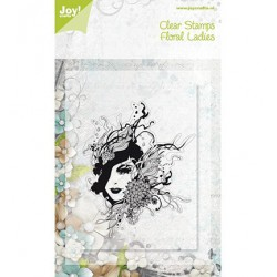 6410-0076 / floral lady
