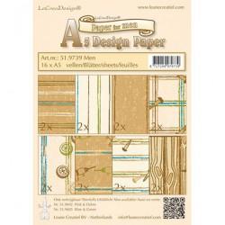 51.9739 / design papier mannen bruin
