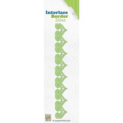 ILD004 / Ornament Interlace border die