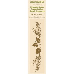 LCR35.9951 / embossing folder christmas