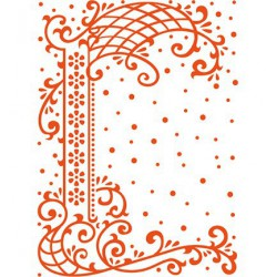 DF3405 / folder anja's decorative border