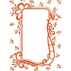 DF3406 / folder anja's decorative rectangle