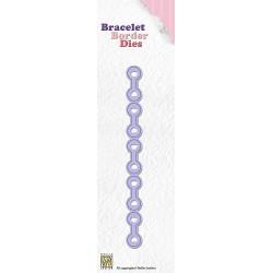 BBD004 / Bracelet border die circles