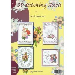 3-D Stitching Sheets 05 Diversen