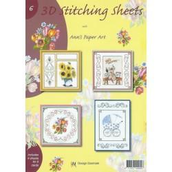 3-D Stitching Sheets 06 Diversen