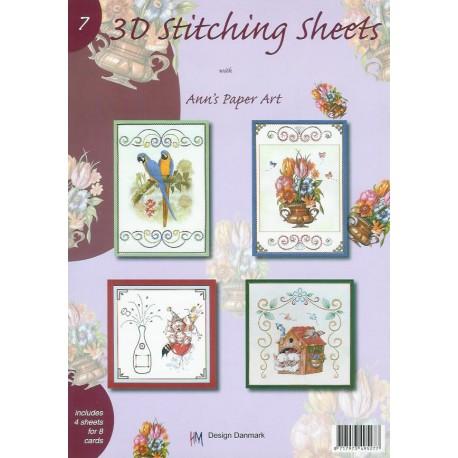 3-D Stitching Sheets 07 Diversen