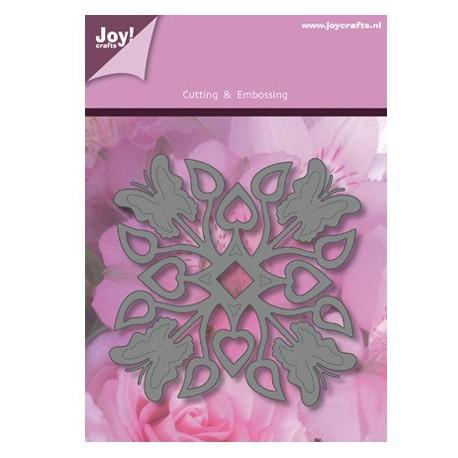 1201-0093 / Vierkant vlinder / blad