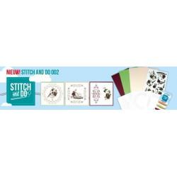 02 / Vogelhuisje Stitch and Do pakket 2