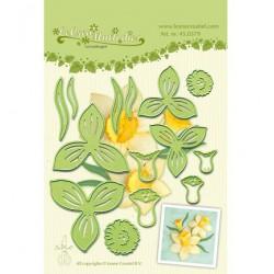 LCR45.0379 / Lea'bilitie - Multi die flower 007 narcis