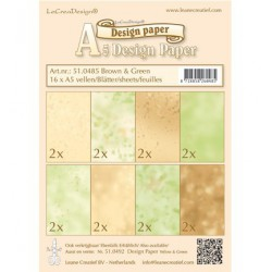 LCR51.0485 / Design Paper - Brown/green