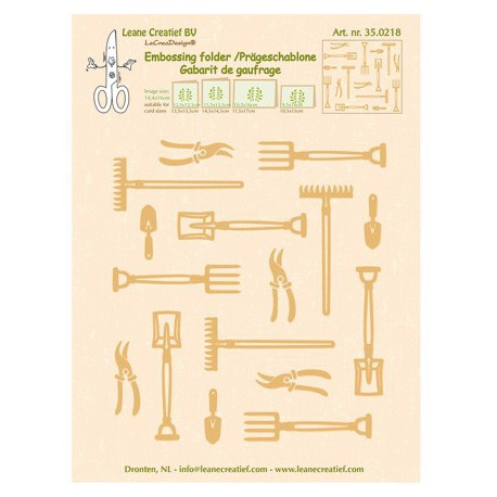 LCR35.0218 / Garden tools large