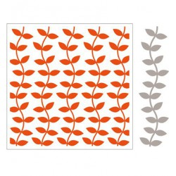 DF3414 / Design Folder + Die - Leaves(incl.Matching Die)