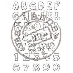 CS0921 / Patchwork alphabet