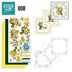 STDO008 / Gele bloemen