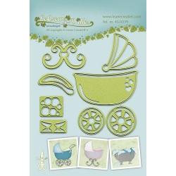 LCR45.0539 / Baby stroller-cradle-bath