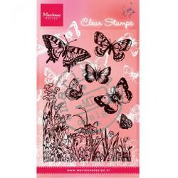 CS0926 / Vlinders en bloemen