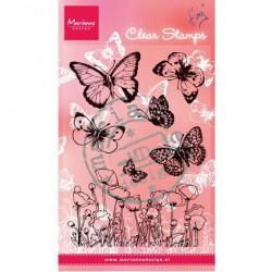 CS0927 / Vlinders en klaprozen