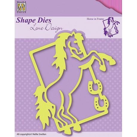 SDL004 / Horse in frame