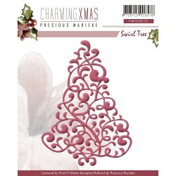 PM10035 / Charming Xmas - Swirl Tree