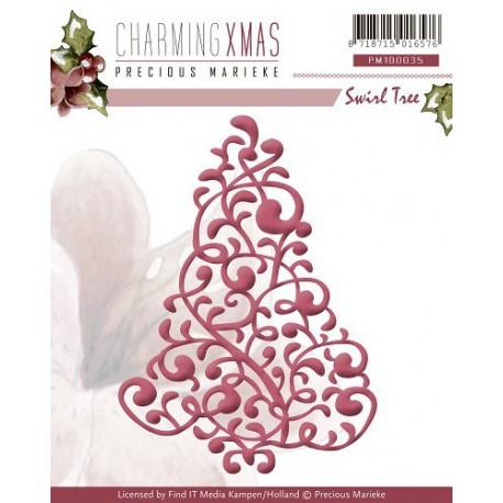 PM10035 / Charming Xmas - Swirl Tree