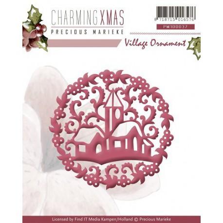 PM10037 / Charming Xmas - Village Ornament