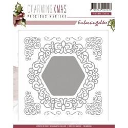 PMEMB10004 / charming Xmas embossing folder