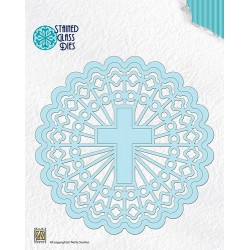 SGD005 / Round with shining cross