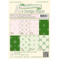 LCR51.1161 / design paper pink/green