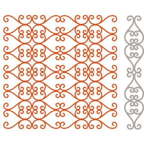 DF3415 / Designables folder + snijmal Regency