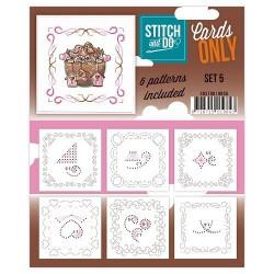 COSTDO10005 / Stitch & do cards only set 5