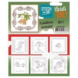 COSTDO10007 / Stitch&Do cards only setje 7