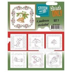 COSTDO10007 / Stitch&Do cards only setje 7
