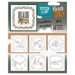 COSTDO10008 / Stitch&Do cards only setje 8