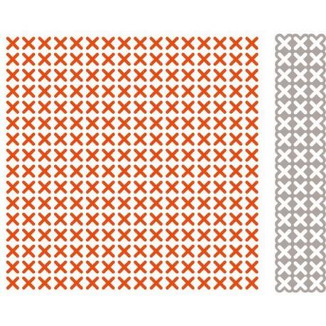 DF3417 / Cross stitching folder + snijmal