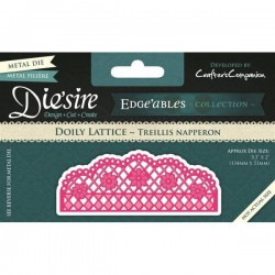 DS-EDG-DOI / Doily lattice treillis napperon