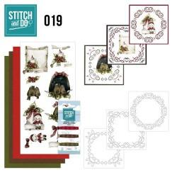 STDO019 / Snowy detail