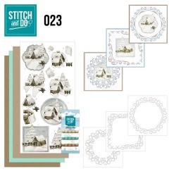 STDO023 / Snow cabins