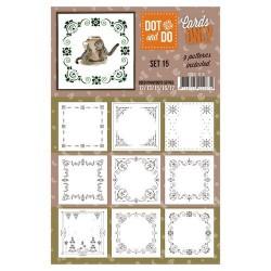 CODO015 / cards only setje 015 hobbydots