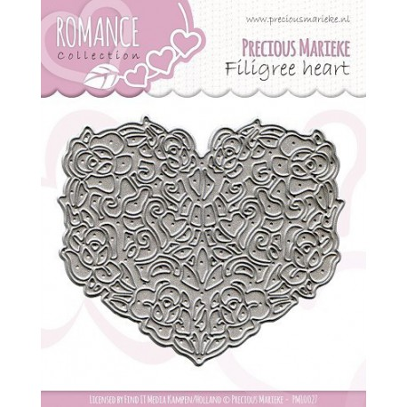 PM10027 / Filigree heart