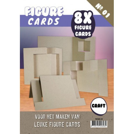 FGCS001-45 / Figure cards craft