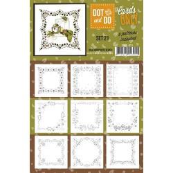CODO021 / Dot&do cards only setje 021