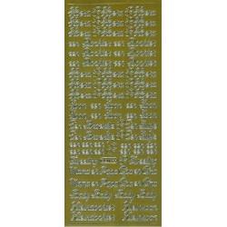 geboorte gemengde tekst / starform 0208