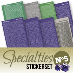SPECSTS005 / Stickerset specialties nr. 5