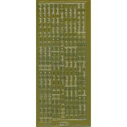 diverse teksten vertikaal / starform 0227