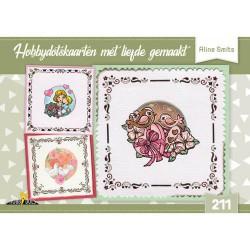 211 / Hobbydots kaarten met liefde gemaakt