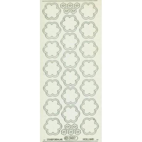 starform 3182 / transparant rosette